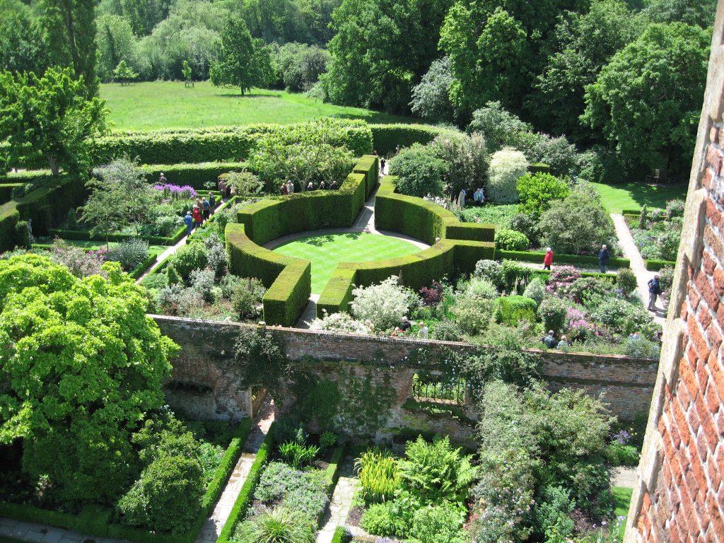 Sissinghurst's famous rondel hedge