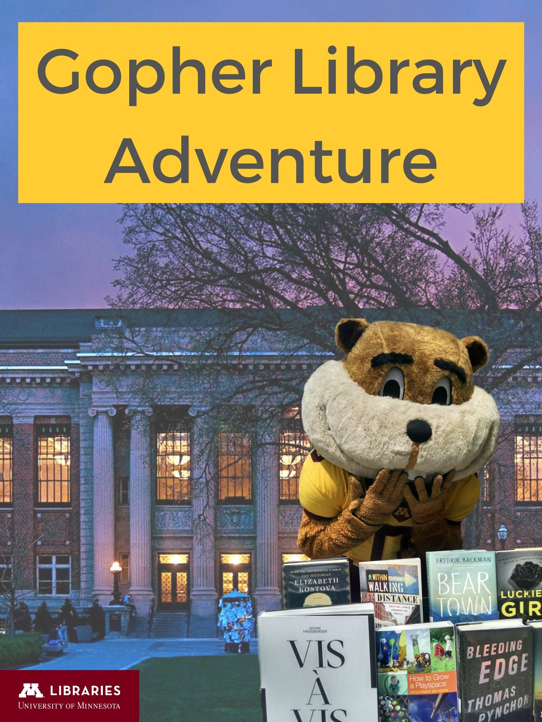 Cover image for UMN Libraries Adventure